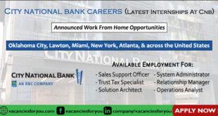 City National Bank Careers